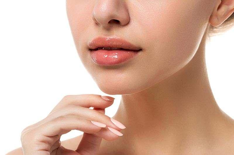 schöne Lippen