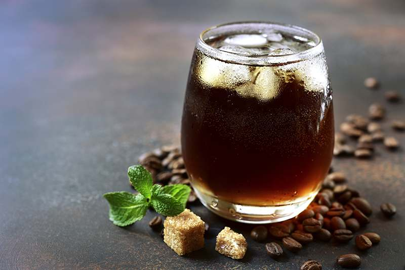 Gin Tonic Coffee Drink