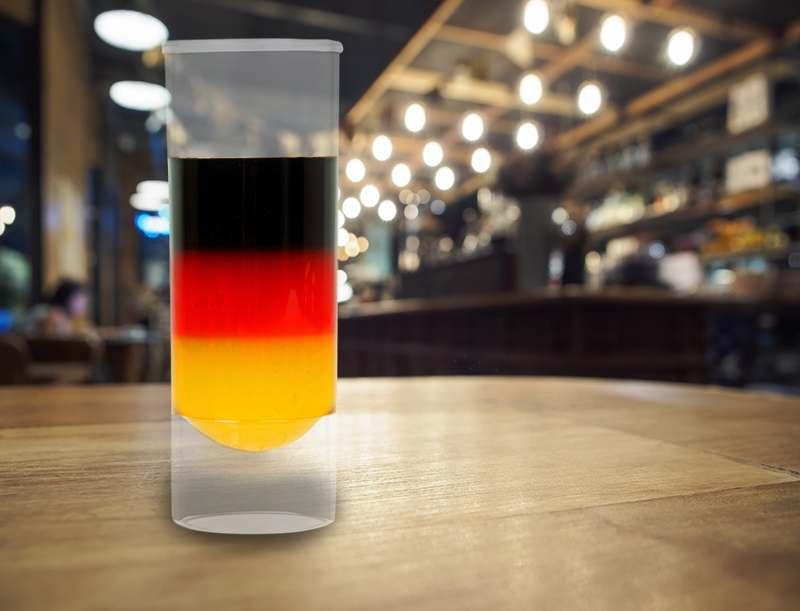 Schwarz-Rot-Gold Drink