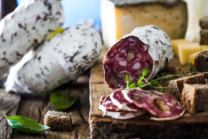 Salami aus Italien