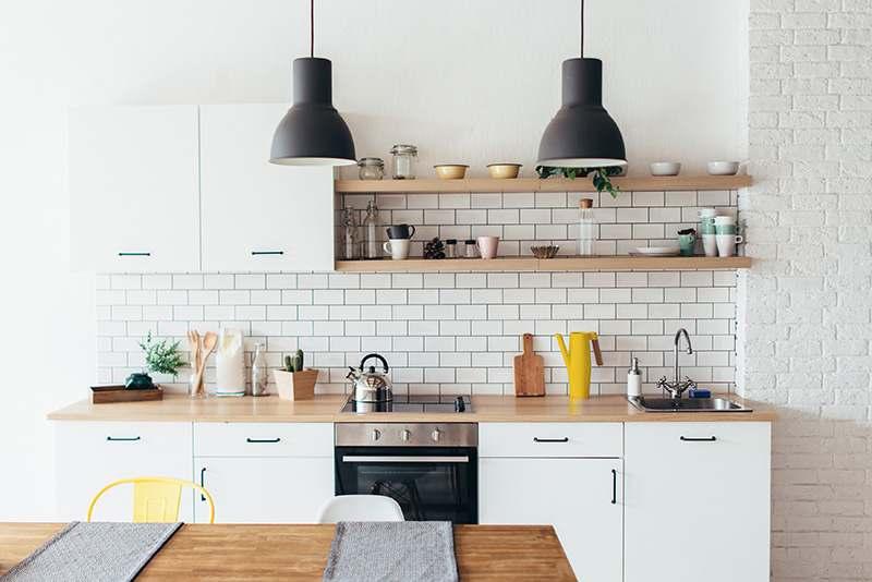 Bild von einer ordentlichen Küche