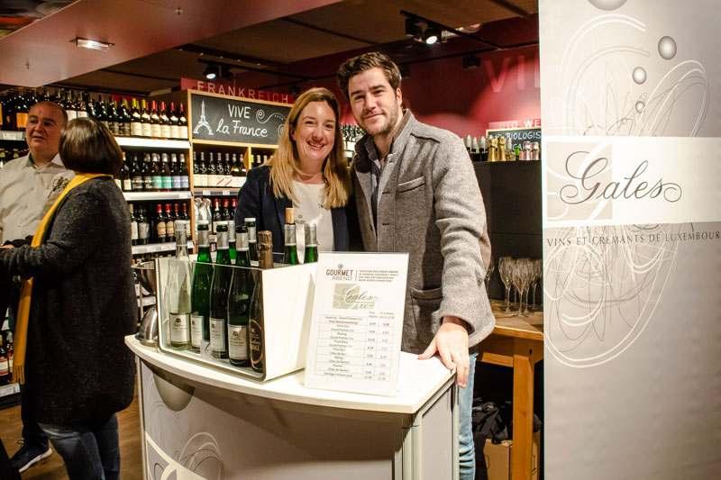 Probierstand Weingut und Sektkellerei Gales