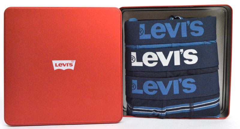 Levi's Boxershorts Geschenkset