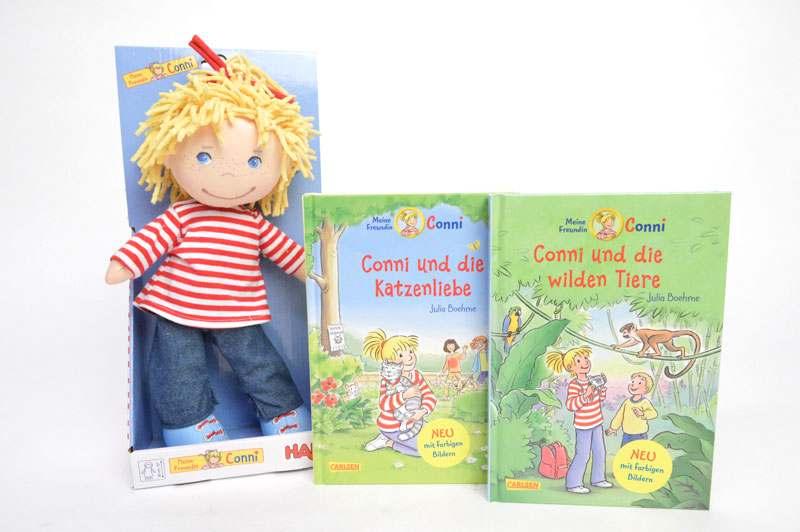 Meine Freundin Conni Bücher und Puppe