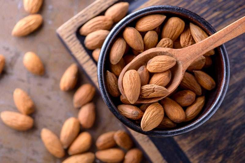 Brainfood, mandeln, Kerne, Hülsenfrüchte, Nüsse, Gesund, Lecker