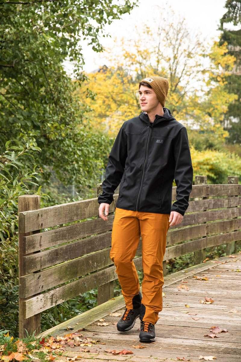 Outdoor Softshelljacke und Hose