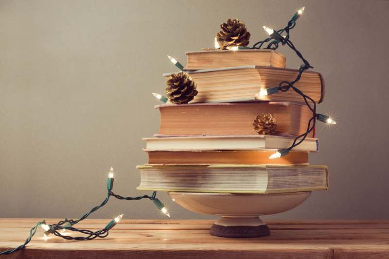 Bücherwurm-Baum