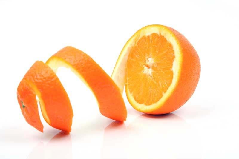 Orangenschalen