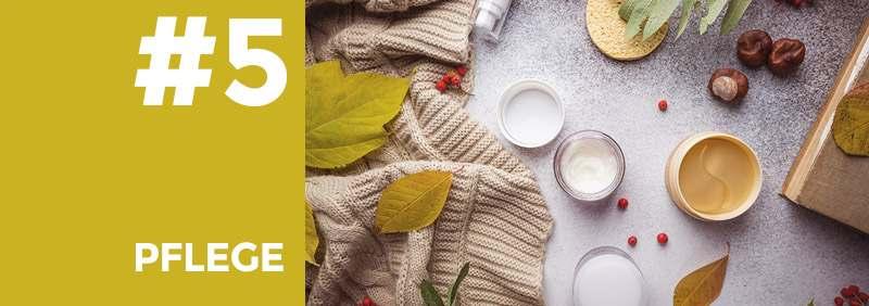 Pflege im Herbst