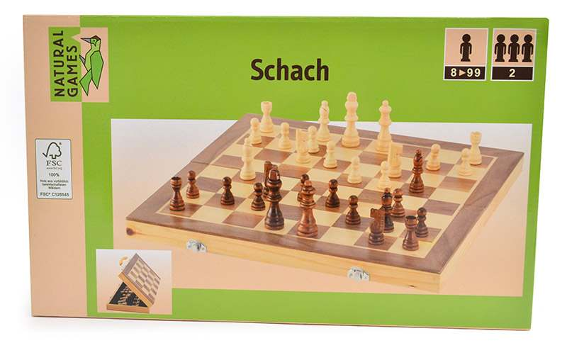 Holz Schach